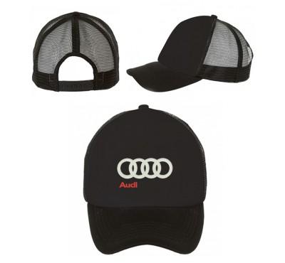 Бейсболка Audi на сетке