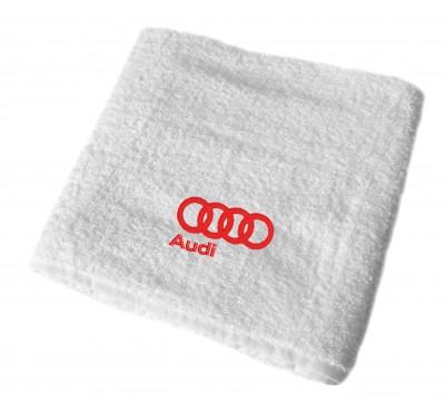Audi махровое полотенце