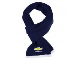 Chevrolet шарф вязанный