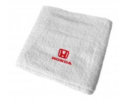Honda махровое полотенце