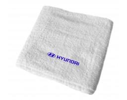 Hyundai махровое полотенце