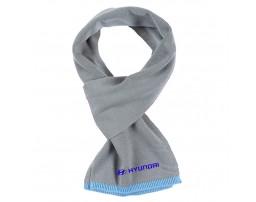 Hyundai шарф вязанный