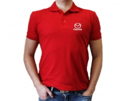 Рубашка Mazda поло