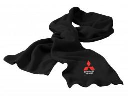 Mitsubishi шарф флисовый