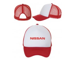 Бейсболка Nissan на сетке