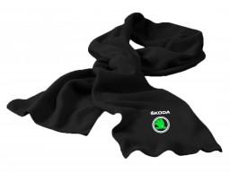 Skoda шарф флисовый