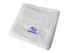 Subaru махровое полотенце