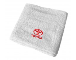 Toyota махровое полотенце