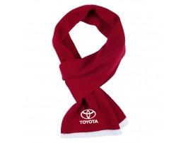 Toyota шарф вязанный