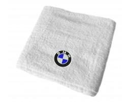 BMW махровое полотенце
