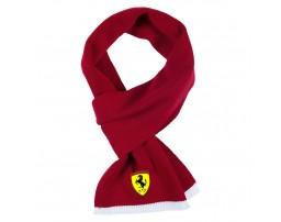 FERRARI шарф вязанный