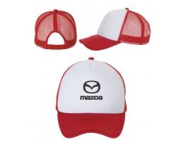 Бейсболка Mazda на сетке