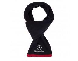 Mercedes-Benz шарф вязанный