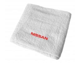 Nissan махровое полотенце