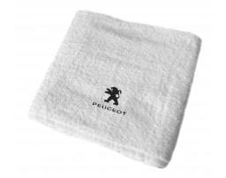 Peugeot махровое полотенце