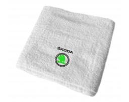 Skoda махровое полотенце