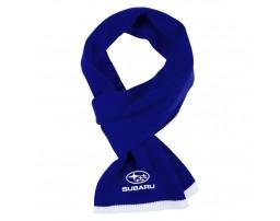 Subaru шарф вязанный