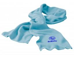Subaru шарф флисовый